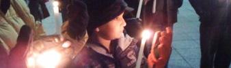 Climate Change Candlelight Vigil